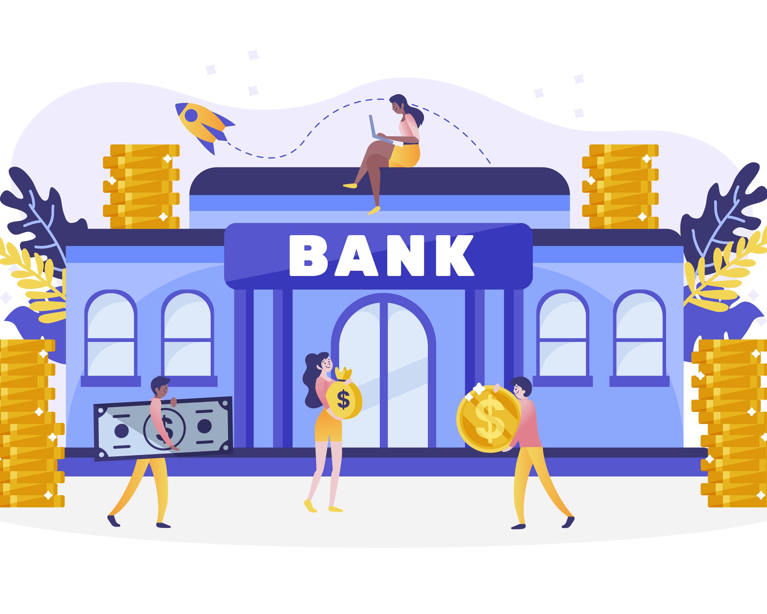 blockchain vs industria bancaria