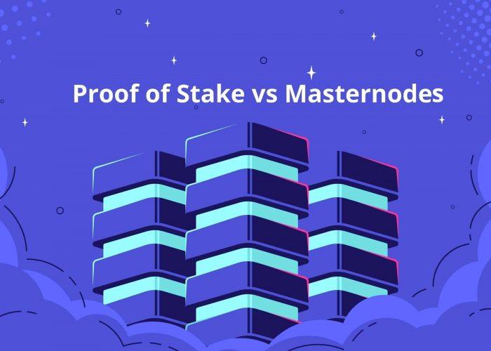 ¿Es lo mismo Proof of Stake que Masternodes?
