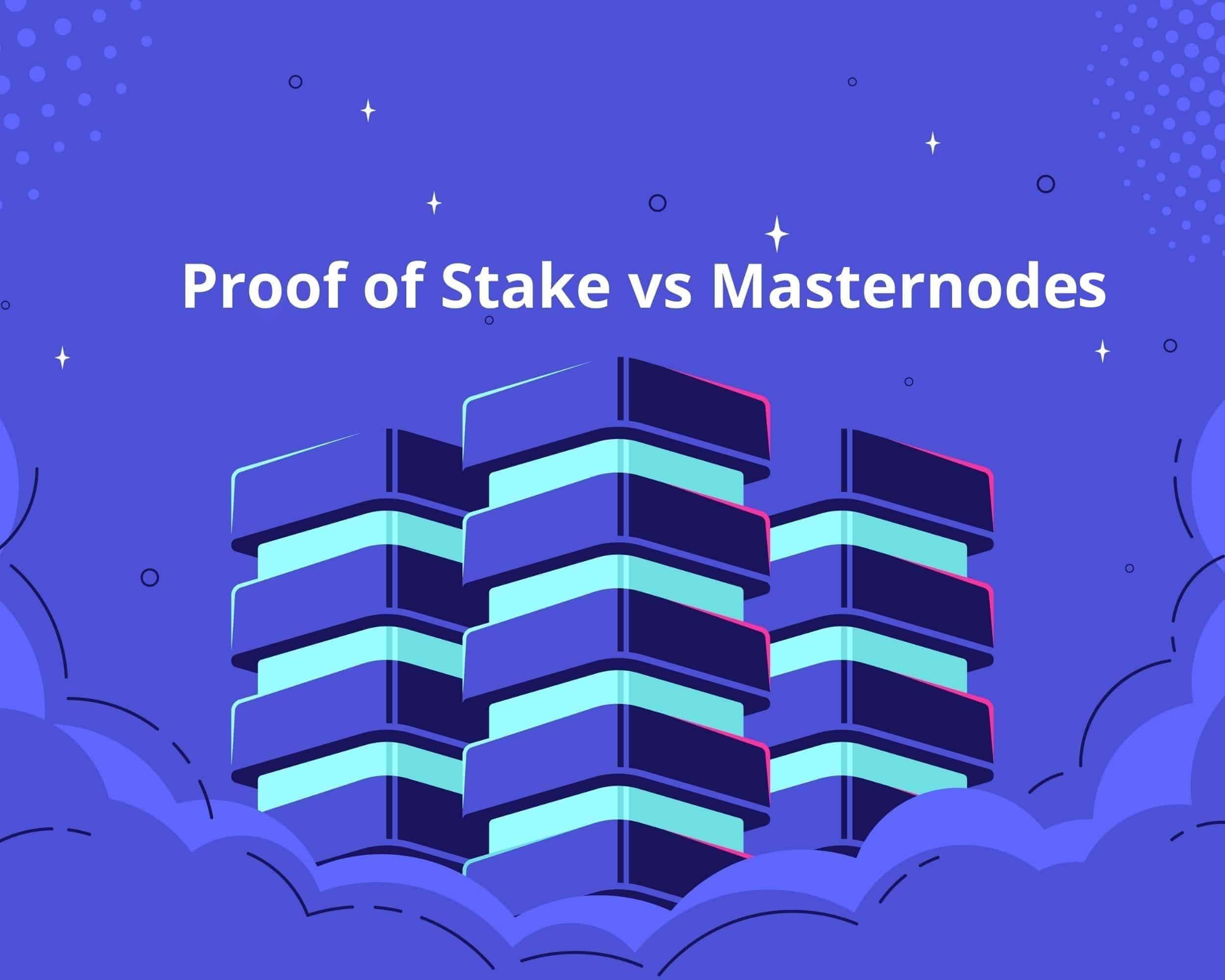 proof of stake vs masternodes (1)