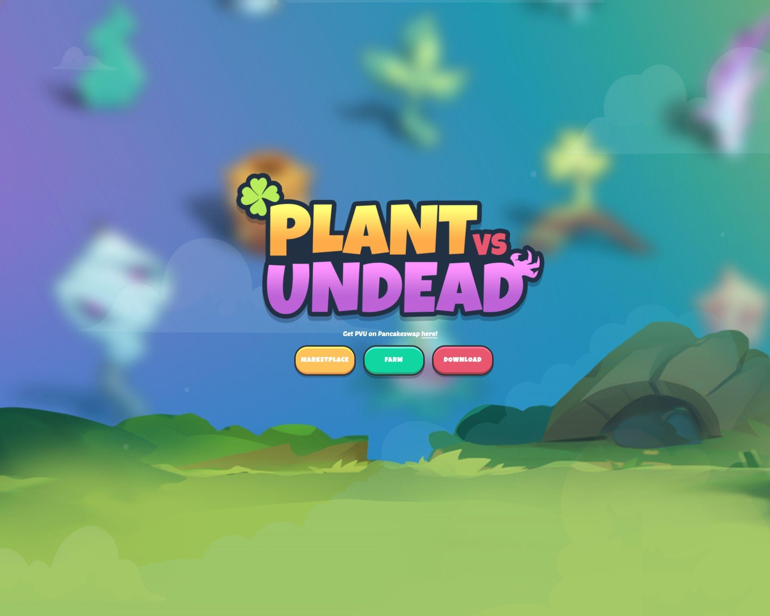 plant vs undead